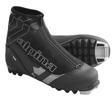NEW ALPINA T10 5004-1K CROSS COUNTRY NNN SKI BOOTS - 44 - M10/L11