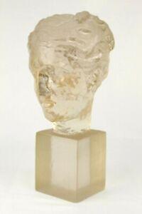 Rare Vintage DOROTHY THORPE Mid Century VENUS Acrylic Resin Sculpture Bust