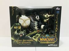World of Warcraft Pandaren Brewmaster Deluxe Action Figure NIB New Sealed Rare