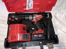 "Milwaukee M18 Fuel 1/2"" Hammer Drill/Driver Kit - 2604-22"