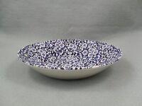 Queen's Victorian Calico Blue Bowl
