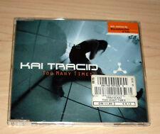 CD Maxi-Single - Kai Tracid - Too Many Times