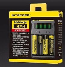 Nitecore NEW I4 2016 Charger For AA AAA 18650 18350 Li-ion Battery NEW