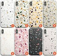 Terrazzo Pattern Designs Slim Phone Case for iPhone | Designer Spotted Texture T
