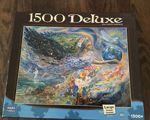 The Earth Angel Fantasy Rainbow 1500 Deluxe Puzzle 2008 Mega 24x33""