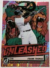 Frank Thomas 2021 Donruss Baseball Unleashed Pink Fireworks SP #UNL26 White Sox