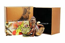 JAY STRONGWATER PIP MONKEY TRINKET BOX SWAROVSKI CRYSTALS BRAND NEW USA