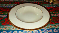 Lenox Presidential Tyler Pattern Rimmed Soup Bowl - Have 4 To Sell