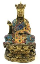 Cloisonne Enamel Buddha Statue