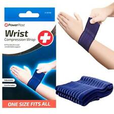ADJUSTABLE ELASTICATED COMPRESSION WRIST WRAP BANDAGE Medical Support Weight.