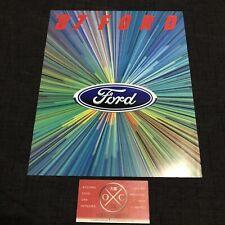 Vintage 1987 Ford Brochure Japanese Catalog Prospekt Rare Lincoln Mustang Sierra