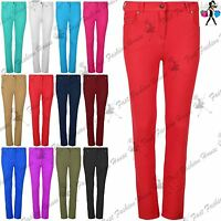 Women Ladies Stretchy Skinny Fit Jeggings Jeans Denim Leggings Plus Size UK 8-22
