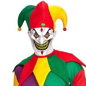 Coloré Horreur Avec Narren-Kappe Et Col Clown-Mütze Kasper Hofnarr