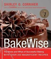 BakeWise: The Hows and Whys of Successful Baking with Over 200-ExLibrary