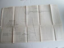 1878 Map, Mississippi River, Clinton Railway Draw Bridge, Diagram 18