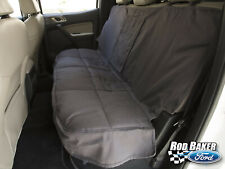 Gray Rear Bench Seat Protective Seat Covers fits 2019 Ford Ranger Pickup