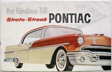 PONTIAC Strato-Streak - Car Sales Brochure - 1956 - #10-55-2MM
