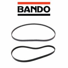 Fits 1990-1993 Honda Accord Bando Belt 2pc Set Alt / Pwr / Ac 4PK1070  5PK1110