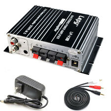 700W 12V Mini Hi-Fi Stereo Digital Amplifier mp3 iPod home Car Motorcycle Boat