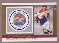 2003 Pacific Canada Post NHL All-Star Game Stamp & Card # 7 JEAN BELIVEAU