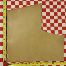 """Horween Natural Grey Essex 4 oz. Leather Hide Cut, 16"""" x 15"""" - Nat Qlty"""