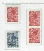S30177) Sweden MNH 1968 Highschool 4v