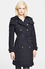 Burberry Brit Down Puffer Coat 'Allerdale' Black XL $1095 AUTHENTIC