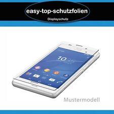 Kingzone N5 - 3x easy-top Antifingerprint- Antibakterielle Displayschutzfolie