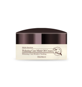 Deoproce Relaxing Care Mink Oil Cream 100g - FREE SHIPPING