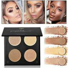 Femmes Shimmer /Mat Highlighter Bronzer Eyeshadow Pressed Powder Mode