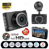 "3"" Full HD 1080P Car DVR CCTV Dash Camera G-sensor Vehicle Video Cam Recorder"