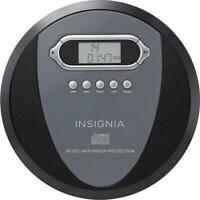 Insignia NS-P4112 Portable CD Player Black Includes Batteries - Ready To Enjoy!