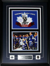 Toronto Maple Leafs 1967 Stanley Cup 2 photo signed by George Armstrong and Eddi