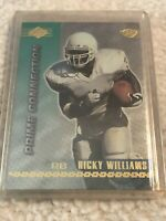 1999 Edge Prime Connection Ricky Williams  Rookie Card RC