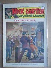 Nick Carter Il Grande poliziotto americano Anni 40 n°97 ed. NERBINI  [G369]