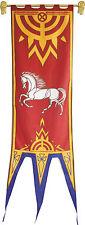 Banner von ROHAN IV - Herr Der Ringe Flagge Replica Fahne ca 57 x 196cm neu