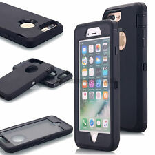 Combo Protection iPhone 8 7 6S Plus 5s SE Heavy Duty Case Cover [Fit belt clip]