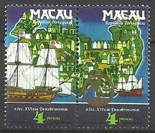 Macau - Entdeckungen des 16. Jahrhunderts Satz postfrisch 1983 Mi. 511-512