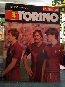 CALCIO FILM 29 ANNO VII 6 DICEMBRE 1978 TORINO NAPOLI CALCIOFILM VULLO MOZZINI &