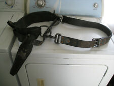 Vintage Bell Systems Lineman's Pole Climbers Safety Belt Buckingham Bell Phone
