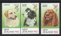New Zealand MNH 1982 Health Stamps, Dogs