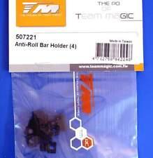 Team Magic E4RSII Evo Anti-Roll Bar Holder (4) 507221 modellismo