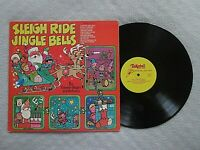 The Caroleer Singers SLEIGH RIDE/JINGLE BELLS Vinyl LP (Tinkerbell SX 1729)