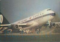 SABENA Boeing 747  Belgian Airlines ALBE