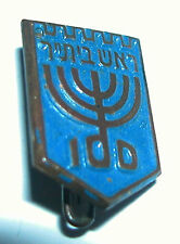 Israel-Blue Pin Of The Head Of Beitar(ביתר) Organization  Branch Or Local Group