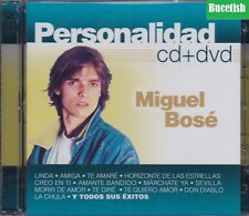 Miguel Bose Personalidad CD+DVD New Nuevo sealed