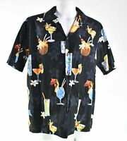 Pacific Legend Tropical Cocktails XL Hawaiian Aloha Shirt