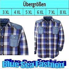 Bequem sitzende karierte Herren-Freizeithemden & -Shirts mit Button-Down-Kragen