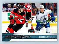 2017-18 Upper Deck Young Guns Nico Hischier Brock Boeser RC #250