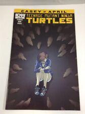 Teenage Mutant Ninja Turtles: Casey & April #3 IDW Comics August 2015 VF TMNT